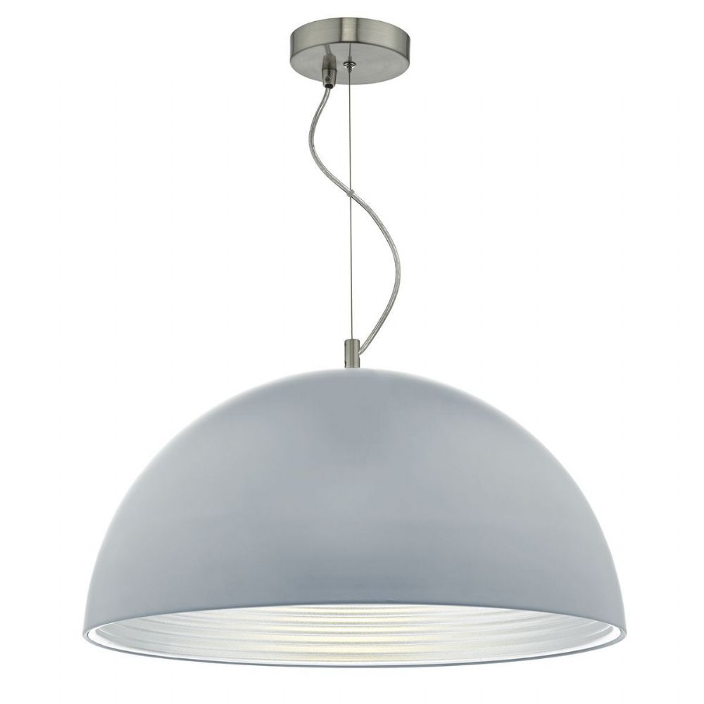 Jarama 1 Light Pendant Matt Grey